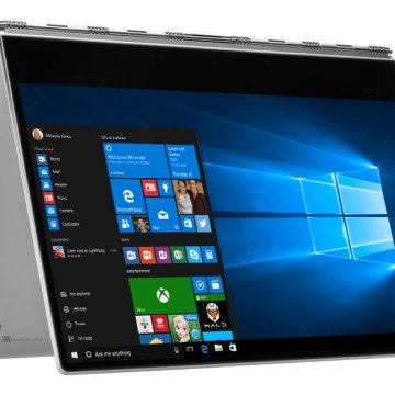 "Yoga 910 ezüst 2in1 eszköz 80VF00CMHV (13,9"" Full HD IPS touch/Core i5/8GB/256GB SSD/Windows 10)"