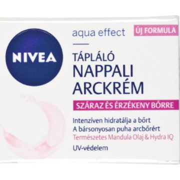 Nivea Aqua Effect vagy Sensitive arckrém