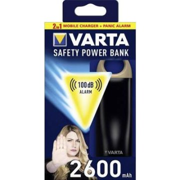 VARTA Safety PowerBank 2600mAh akkubank