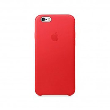 Apple - iPhone 6s bőrtok - (PRODUCT)RED