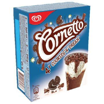 Cornetto multipack, Max X-Pop jégkrém multipack vagy Mini Twister multipack
