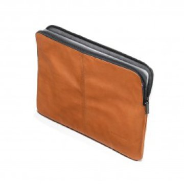 Decoded Leather Slim Sleeve for MacBook 13inch - Brown