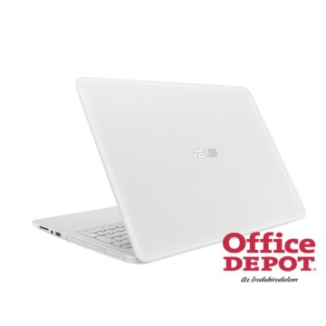 "ASUS X556UQ-DM832D 15,6"" FHD/Intel Core i3-7100U/8GB/1TB/GeForce 940MX 2GB/DVD író/fehér notebook"