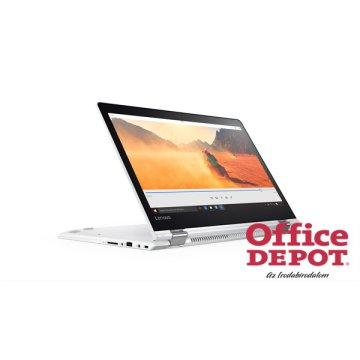 "LENOVO Yoga510 80VB003WHV 14""FHD IPS Touch/Intel Core i5-7200U/4GB/500GB/fehér/Win10 notebook"
