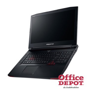 "Acer Predator G9-793-76SA 17,3"" FHD IPS/Intel Core i7-7700HQ 2,8GHz/16GB/128GB+1TB/DVD író/fekete notebook"