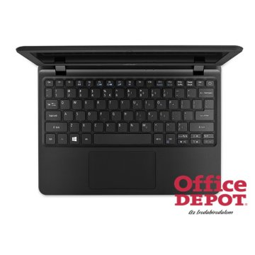 "Acer Aspire ES1-132-C984 11,6""/Intel Celeron N3350 1,1GHz/4GB/64+500GB/fekete notebook"