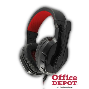 White Shark GHS-1642B PANTHER fekete Gaming headset