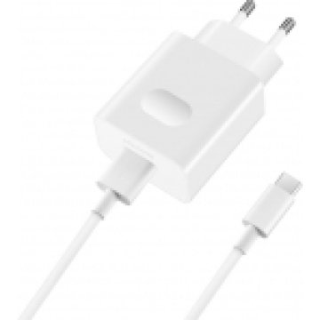 HUAWEI AP32 WITH TYPE C CABLE FAST CHARGER 9V2A WHITE