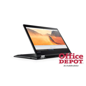 "LENOVO Yoga510 80VB003FHV 14""FHD IPS/Intel Core i7-7500U/8GB/256GB/Win10/fekete laptop"