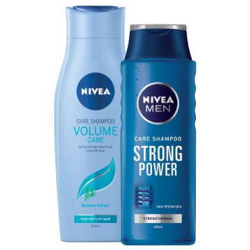 Nivea Volume Care Dúsító Sampon vagy Nivea Men Strong Power Sampon