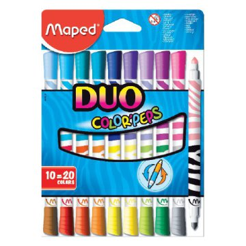 "MAPED ""Color`Peps Duo"" filctoll-készlet"