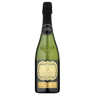 Tesco finest Cava brut nature pezsgő