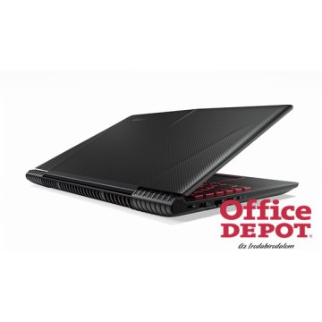 "LENOVO Legion Y520 80WK009HHV 15,6"" FHD IPS/Intel Core i7-7700HQ/8GB/128GB+1TB/GTX 1050Ti 4GB/fekete laptop"