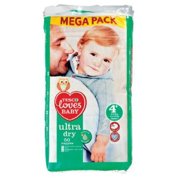 Tesco Loves Baby Ultra Dry megapack pelenka
