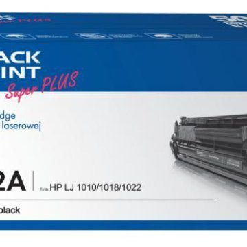 Black Point toner LBPPH12A (HP Q2612A / CRG-703) fekete