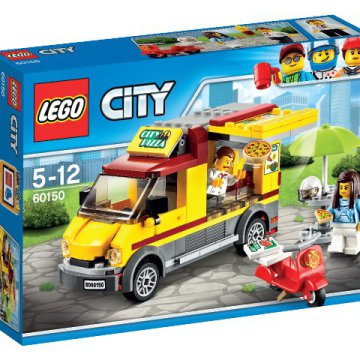 LEGO City Pizzás furgon 60150