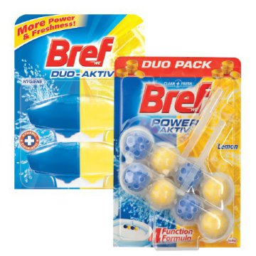 Bref Power Aktiv, Duo-Aktiv, Blue Aktiv WC frissítő blokk