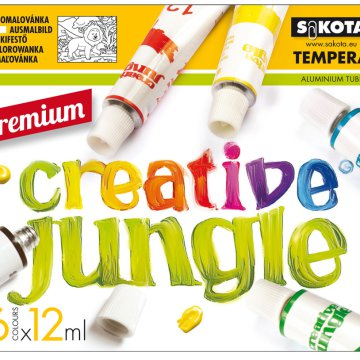 Sakota Premium Creative Jungle tempera