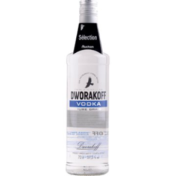 Dworakoff vodka 38% 4 271 Ft/l