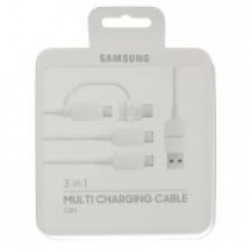 EP-MN930GWEGWW Multi Charging Cable - White3 Micro USB Plugs / 1 Micro USB Connector (USB Type-C to Micro USB)