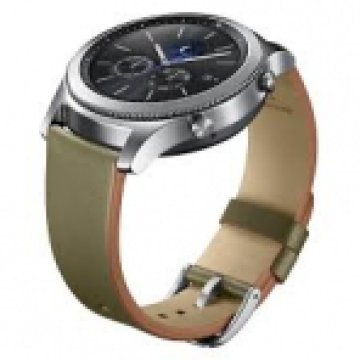 ET-YSL76MGEGWW Classic Leather Band - Olive Green