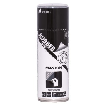 MASTON RUBBERCOMP M FEKETE 400 ML GUMI SPRAY