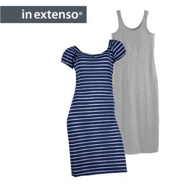 406fbfbebe In Extenso Női hosszú egyszínű vagy csíkos ruha többféle - ár ...