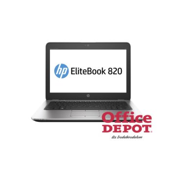 "HP EliteBook 820 G3 T9X46EA 12,5"" FHD/Intel Core i7-6500U/8GB/256GB/Win10 Pro/ezüst laptop"
