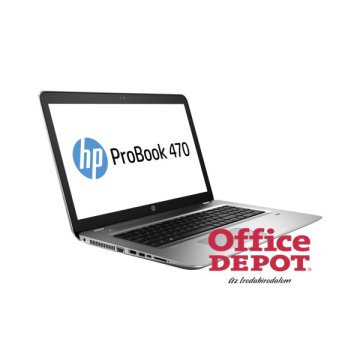 "HP ProBook 470 G4 Y8A96EA 17,3"" FHD/Intel Core i5-7200U/8GB/1TB/930MX 2G/Int. VGA/Win10 Pro/ezüst laptop"