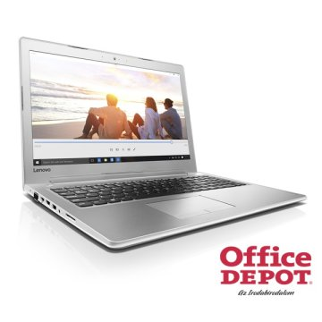 "LENOVO IdeaPad 510 80SV00L1HV 15,6"" FHD IPS/Intel Core i5-7200U/4GB/1TB/940MX 4GB/fehér laptop"