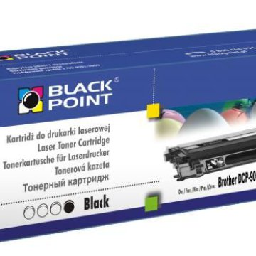 Black Point színes toner LCBPBTN135BK (Brother TN-135BK / TN-130BK) fekete