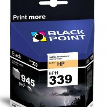 Black Point patron BPH339 (HP C8767EE) fekete