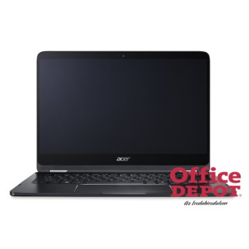 "Acer Spin 7 SP714-51-M5MM 14"" FHD IPS/Intel Core i7-7Y75/8GB/256GB/Int. VGA/Win10/fekete laptop"