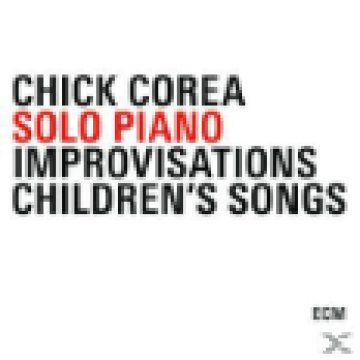 Solo Piano Improvisations Children's Songs CD