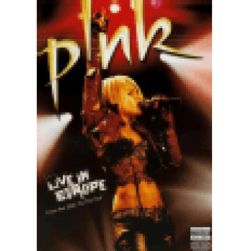 Pink - Live In Europe DVD