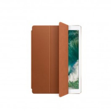 Apple - Bőr Smart Cover 12,9 hüvelykes iPad Próhoz - Vörösesbarna