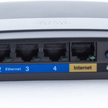 Linksys E2500 N600 dual-band wifi router