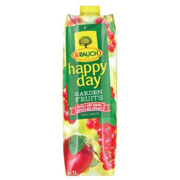 Happy Day Garden Fruits 100%-os gyümölcslé