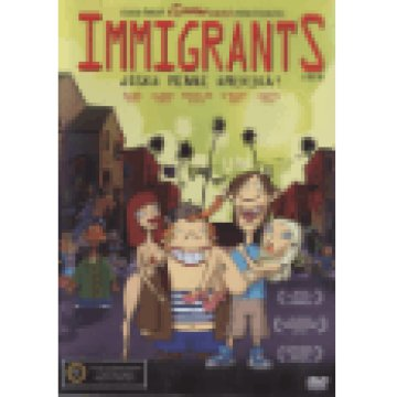 Immigrants - Jóska menni Amerika DVD