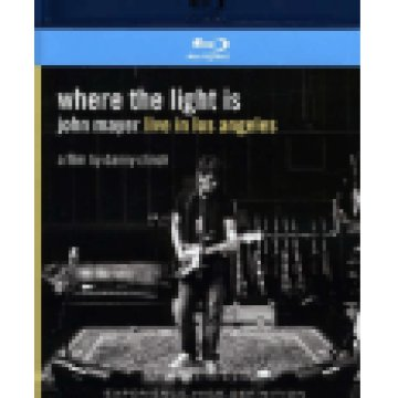 Where the Light Is - John Mayer Live in Los Angeles Blu-ray