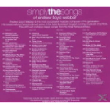 Simply The Songs Of Andrew Lloyd Webber (Box Set) CD