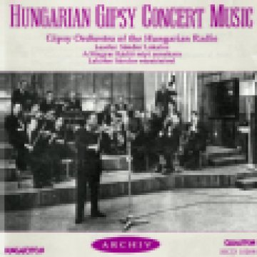Hungarian Gipsy Concert Music CD