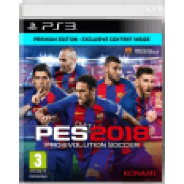 Pro Evolution Soccer 2018 - Premium Edition (PlayStation 3)