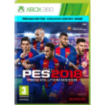 Pro Evolution Soccer 2018 - Premium Edition (Xbox 360)