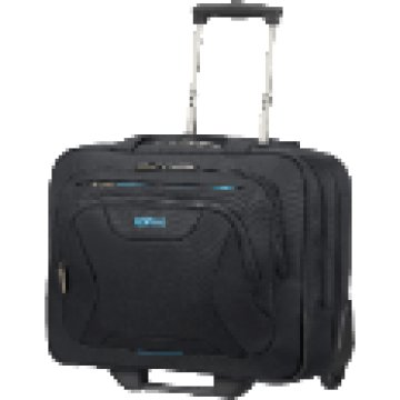 "33G.09.006 ROLLING TOTE 15"" BLK"