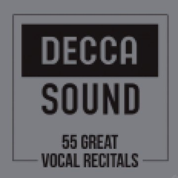 The Decca Sound - 50 Great Vocal Recitals CD