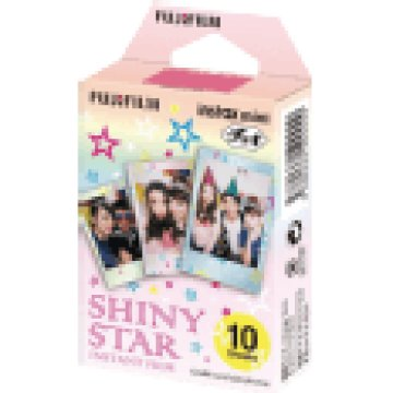 Colorfilm Instax Mini Glossy Shiny Star 10 db/csomag