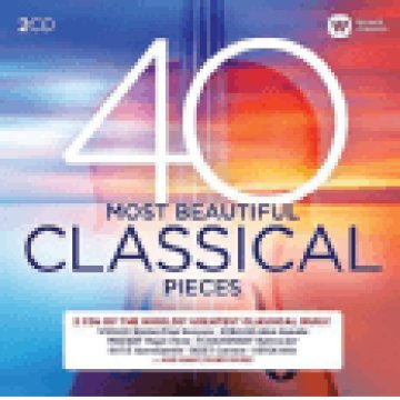 40 Most Beautiful Classical Pieces CD