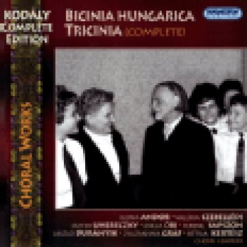 Kodály Complete Edition, Choral Works - Bicinia Hungarica & Tricinia CD