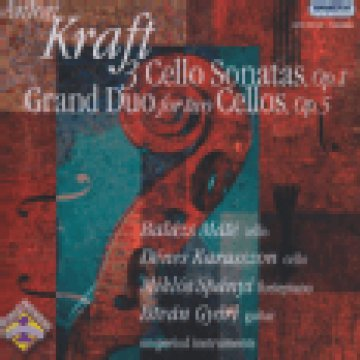 3 Cello Sonatas Op. 1, Grand Duo for Two Cellos Op.5 CD